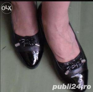 Ieftin! Lot Pantofi superbi Piele naturala Italia & New Look UK ,39-41  - imagine 3