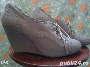 Ieftin! Lot Pantofi superbi Piele naturala Italia & New Look UK ,39-41  - imagine 4