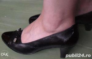 Ieftin! Lot Pantofi superbi Piele naturala Italia & New Look UK ,39-41  - imagine 7