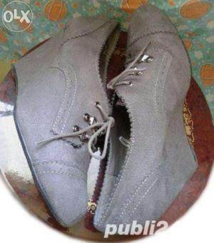 Ieftin! Lot Pantofi superbi Piele naturala Italia & New Look UK ,39-41  - imagine 6