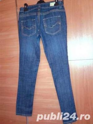 Reducere! Jeans_ Blugi fashion albastrii DollHouse UK , S -M  - imagine 2