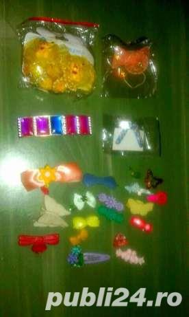 Kit 24 Accesorii pt par/Clame/Agrafe , diverse modele/culori - imagine 8