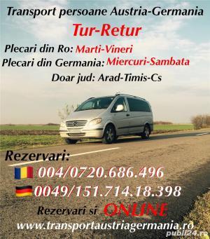 Transport Persoane Romania Germania - imagine 1