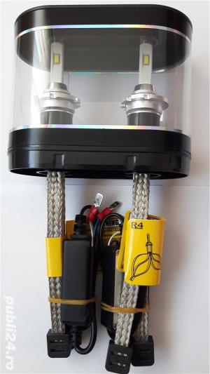 Bec LED far D1S D2S D3S D4S H15 H16 40W - imagine 3