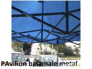 pavilion pliabil 2.5x2.5m nou armonica structura metal - imagine 3