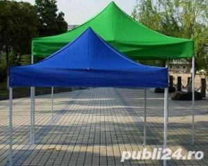 Pavilion 3x3 cu pereti  pe 3 sau 4 laturi pliabil NOU  - imagine 3