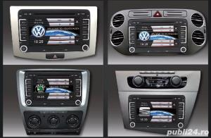 Dvd Gps Navigatie Dedicata VW Passat B6 B7 CC Golf 5 6 Skoda II - imagine 1