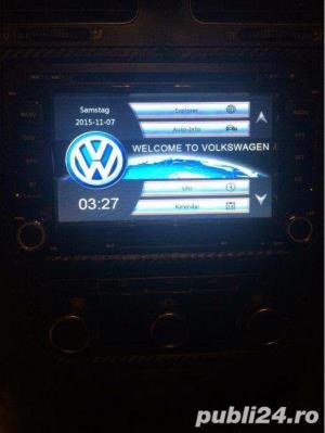 Dvd Gps Navigatie Dedicata VW Passat B6 B7 CC Golf 5 6 Skoda II - imagine 3