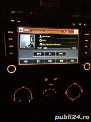 Dvd Gps Navigatie Dedicata VW Passat B6 B7 CC Golf 5 6 Skoda II - imagine 8