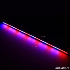 Bagheta Rigida LED pentru Cresterea plantelor de Acvariu, Hidroponice - imagine 2