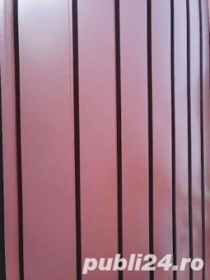 Lichidare stoc tabla / sipca metalica gard cu livrare saptamanal. Producator - imagine 1