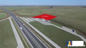Teren cu front stradal la Autostrada A1 - imagine 1