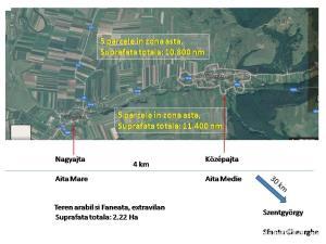 De vanzare teren extravilan 21.000 mp , Aita Medie, jud. Covasna - imagine 2
