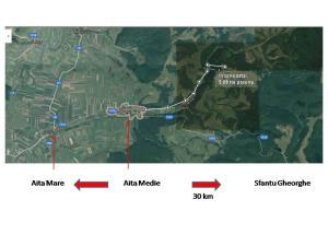 De vanzare teren 50.900 mp Aita Medie  - imagine 1