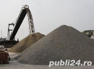 O744570539 Aduc nisip , sort , balast, pamant vegetal piatra concasata e.t.c. - imagine 2