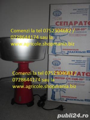 separator smantana complet metalic - imagine 1
