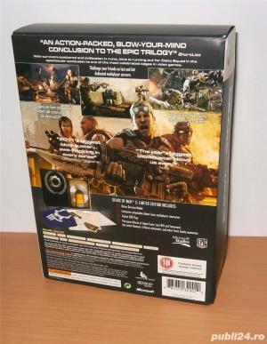 Joc Xbox 360 / Xbox One - Gears of War 3 Limited Edition de colectie  - imagine 2