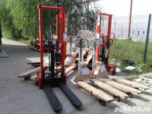 transpalet manual 2 tone 2.5 tone plata ramburs curier - imagine 2