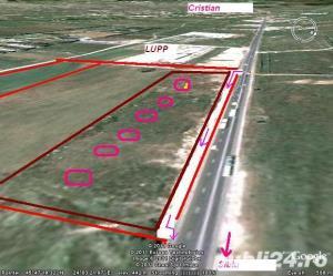 Ter.Industrial ( total 5,33 Ha ):20000mp+23300mp PUZ+10000mp (f.puz)desch.270ml DN1 Sibiu-Cristian - imagine 5