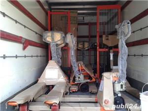 transpalet manual 2 tone 2.5 tone plata ramburs curier - imagine 1