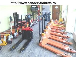 transpalet manual 2 tone 2.5 tone plata ramburs curier - imagine 4