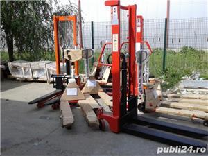transpalet manual 2 tone 2.5 tone plata ramburs curier - imagine 3