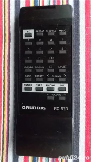 Telecomanda GRUNDIG,telecomenzi diverse modele radio,cd,linie,combina - imagine 2