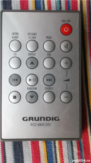 Telecomanda GRUNDIG,telecomenzi diverse modele radio,cd,linie,combina - imagine 3