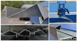 Elhajlito badogos gep  1400/1,5 mm + tarcsas lemezollo abkant manual - imagine 2