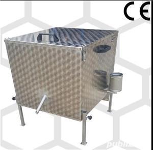 vand topitor  inox 15 rame dadant - imagine 1