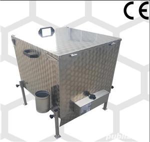 vand topitor  inox 15 rame dadant - imagine 3