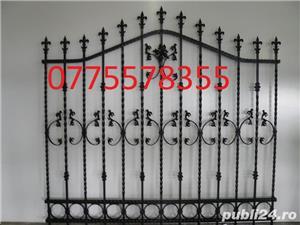 Cruce gard cimitir, amenajare mormant, monumente funerare husi -garantie - imagine 3