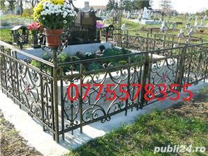 Cruce gard cimitir, amenajare mormant, monumente funerare husi -garantie - imagine 6