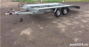 Inchiriez platforma auto 2700kg/4,5m lungime /120ron/zi - imagine 4