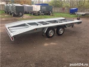 Inchiriez platforma auto 2700kg/4,5m lungime /120ron/zi - imagine 1