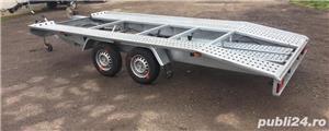 Inchiriez platforma auto 2700kg/4,5m lungime /120ron/zi - imagine 3