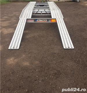 Inchiriez platforma auto 2700kg/4,5m lungime /120ron/zi - imagine 6