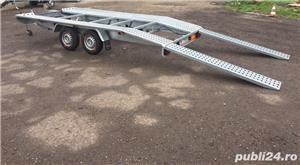 Inchiriez platforma auto 2700kg/4,5m lungime /120ron/zi - imagine 5