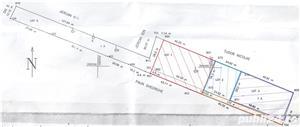 Teren intravilan construibil 2.600mp in Calugareni (jud. Giurgiu), la 23km de Bucuresti - imagine 2