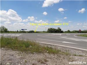 Teren 10.750 mp cu front la drum european si curent trifazic in dreptul localitatii Padureni  - imagine 7