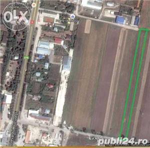 Teren DN5 Giurgiu Bucuresti, 1500mp, zona Plase Sudate, Gecor  - imagine 2