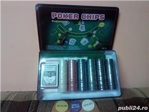 Set Poker 300 jetoane/chips inscriptionate - imagine 2