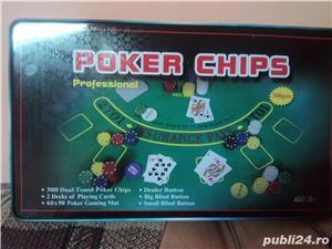 Set Poker 300 jetoane/chips inscriptionate - imagine 5