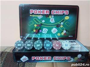 Set Poker 300 jetoane/chips inscriptionate - imagine 1