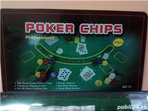Set Poker 300 jetoane/chips inscriptionate - imagine 6