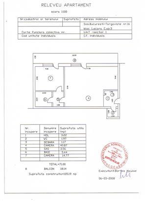 Apartament 2 camere Straulesti-Urgent sau schimb cu Constanta.  - imagine 6
