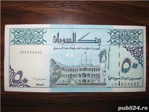 Bancnota de 50 sudanese dinars pentru colectionari - imagine 2
