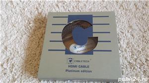 Cablu hdmi Cabletech platinium edition 1.8m - imagine 3