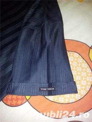 Tricou Tom Tailor Sportswear XL Nou Superb Elegant Gri Inchis. - imagine 4