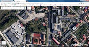 2873 mp teren cu PUZ pentru blocuri, clinica, supermarket , case etc. Linga liceul AUTO - imagine 1
